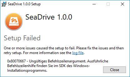 Cant install Seadrive 1 0 0 - SeaDrive - Seafile Community Forum